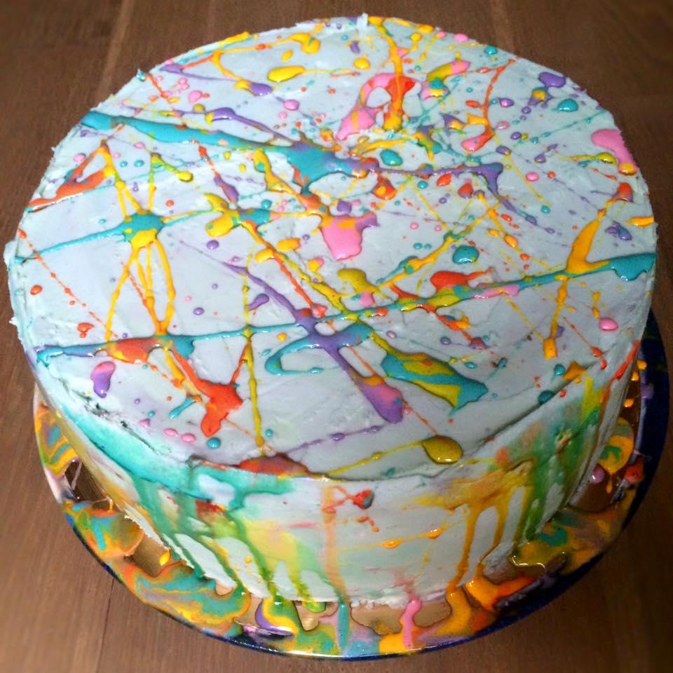 VaporWave cake