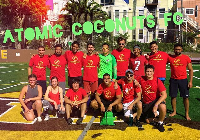Nice work today team! #AtomicCoconuts #soccerlife