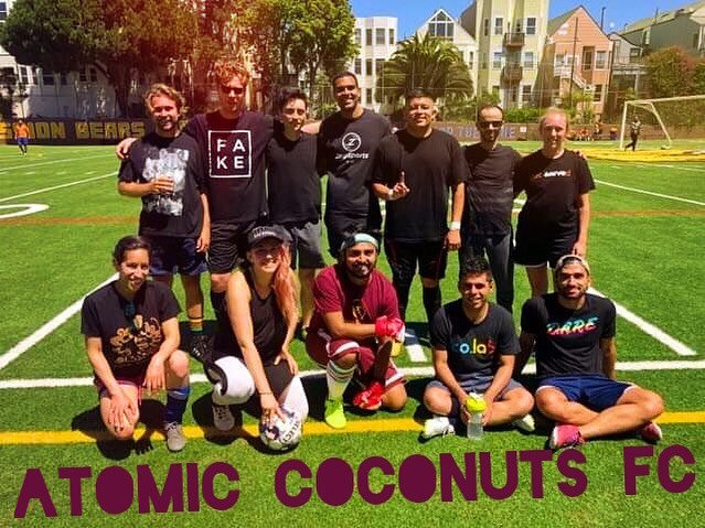 We won out game this morning!  #AtomicCoconuts  Www.mikkaminx.com/atomic-coconuts
