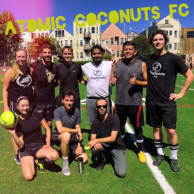 4-1 win for the coconuts on Saturday! #AtomicCoconuts #soccergang