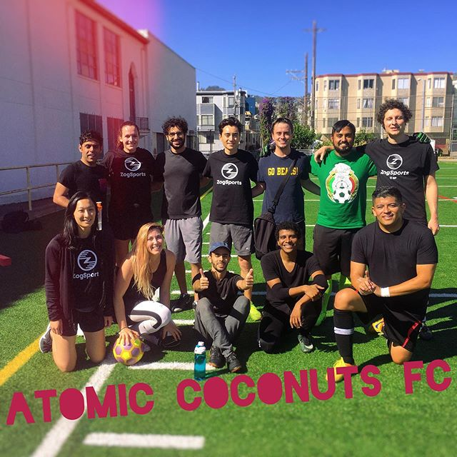 Atomic Coconuts FC killed it! Game was a tie but we played so well 😊  #DreamTeam
