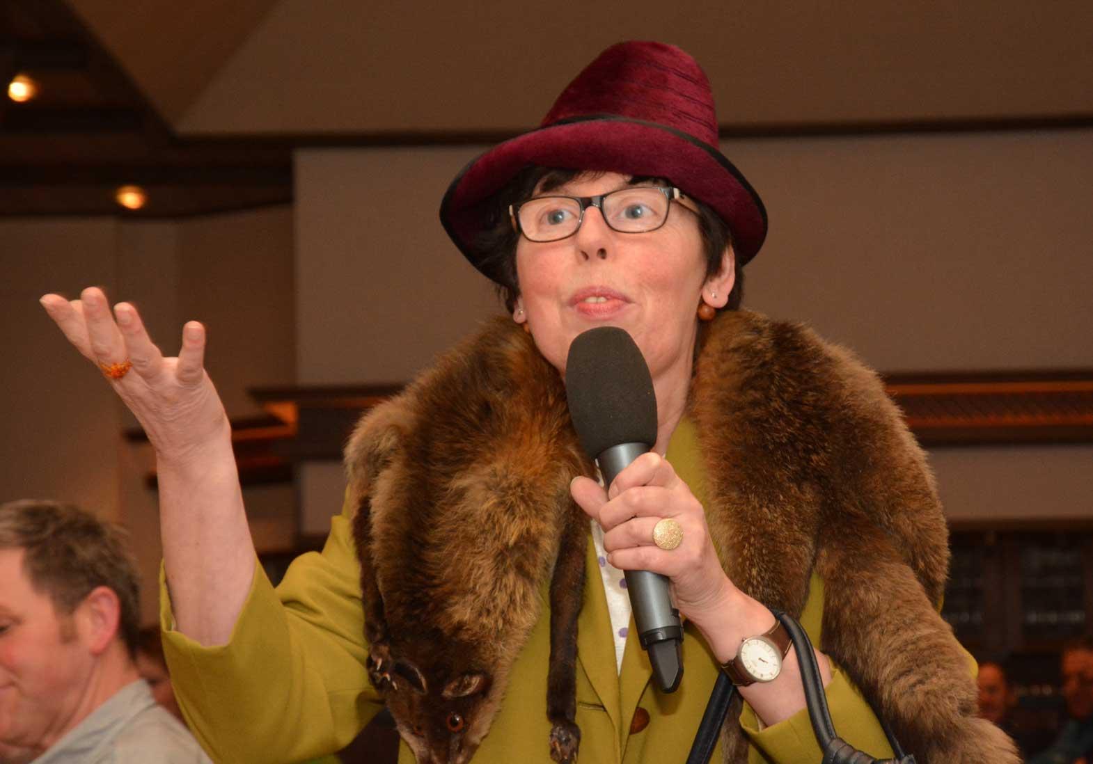 Maria Kormann-Unfeld sorgte mit frechen Kommentaren für Unterhaltung