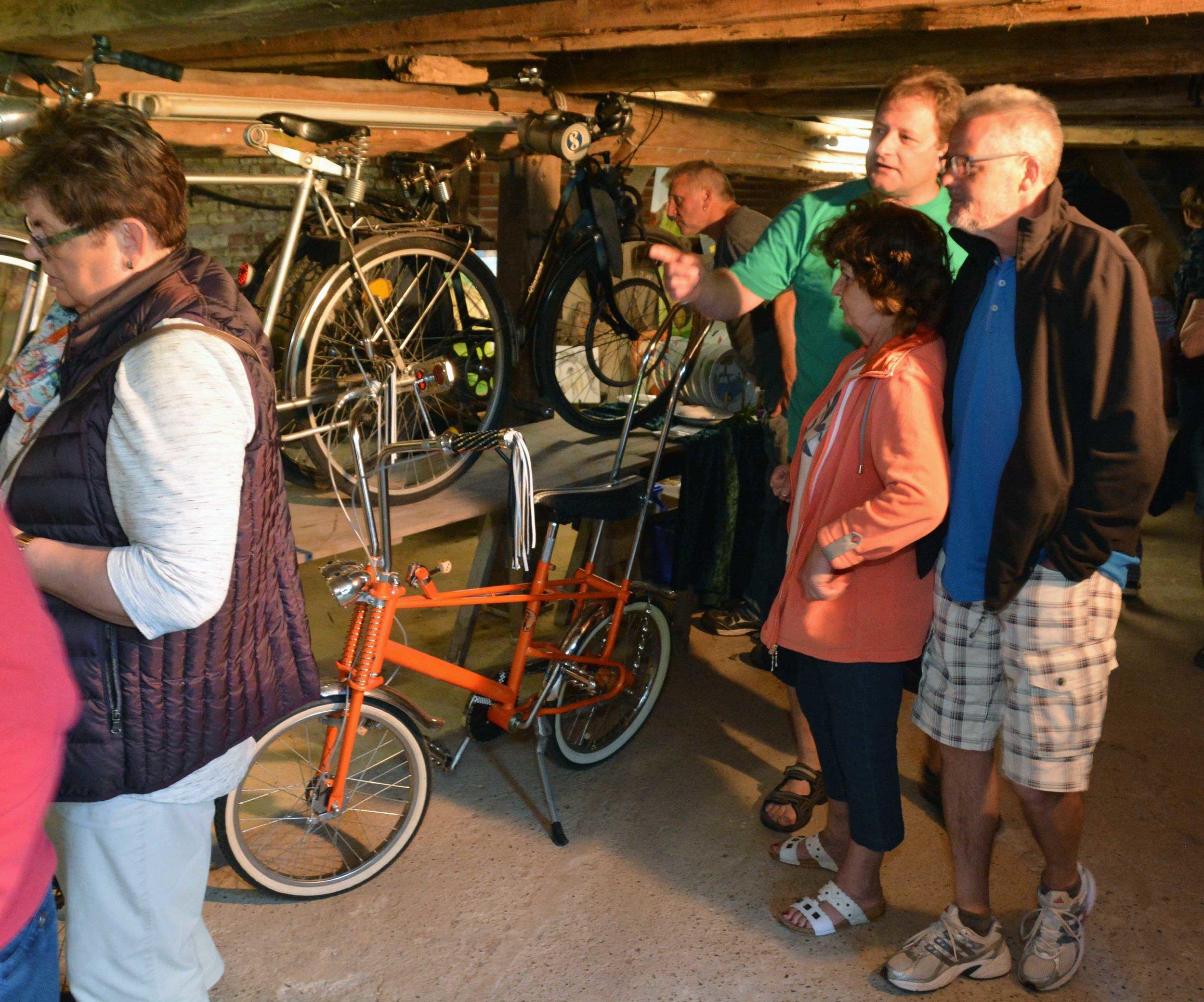 Das Original-Bonanza-Fahrrad aus den 1980er Jahren hätte der Heimatverein gleich mehrere Male verkaufen können.