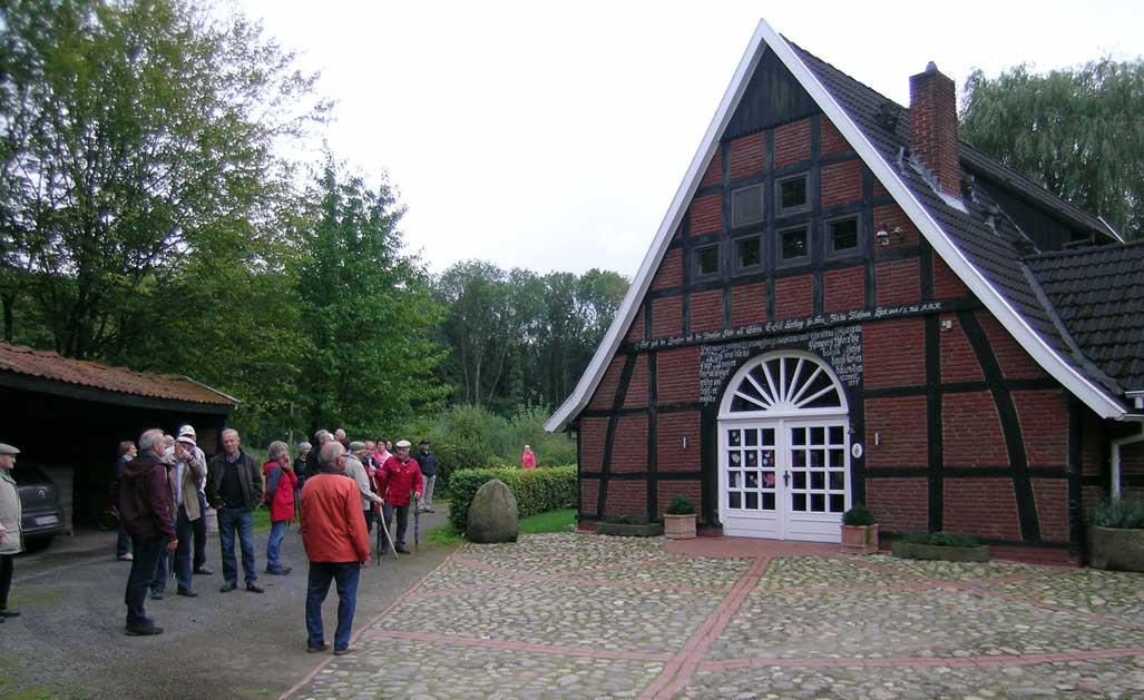 Am Feldkampsweg befindet sich einer der ältesten Häuser Bockradens  Fotos: Georg Geers