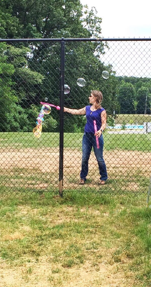 Boss brings bubbles!!