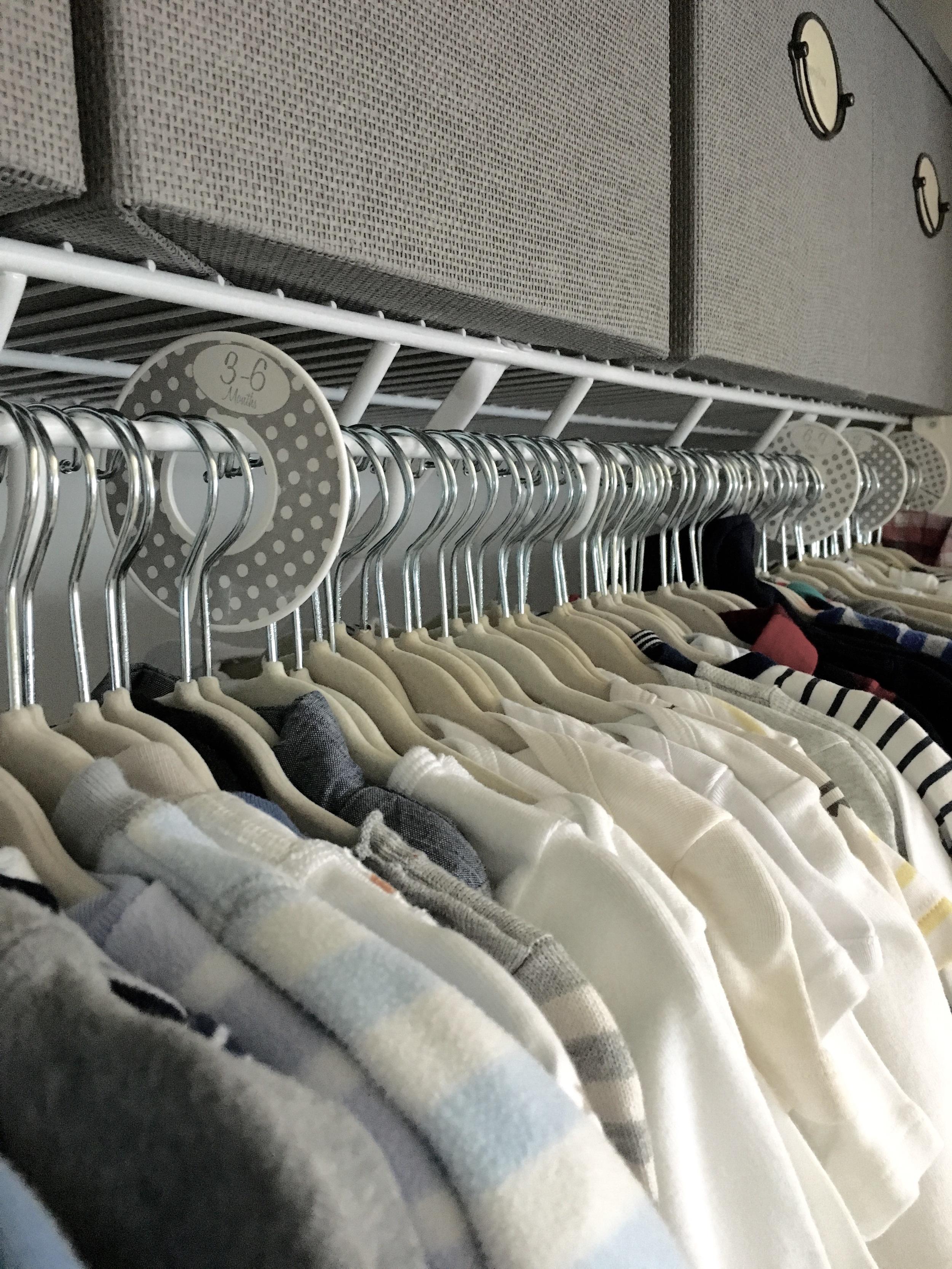 Hangers:  Amazon ; Closet dividers:  Amazon