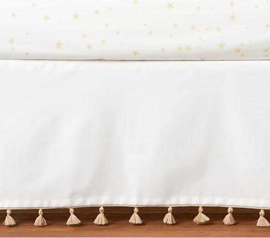 Tassel Crib Skirt