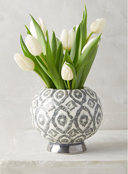 Solena Vase , $28  This vase is timeless and comes in three beautiful colors. The best part? It's only $28, making it the perfect gift (even if that gift is for yourself). Go ahead, get three of them.
