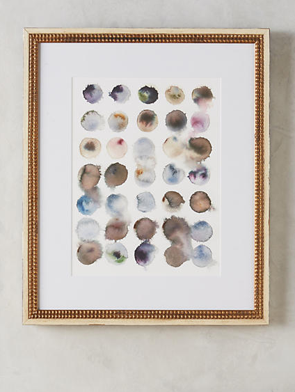 Deciphering Nature Wall Art , $218  Beautiful and so unique, this piece of art would look gorgeous in a bedroom, bathroom, or even as part of a gallery wall. And the fact that it comes already beautifully framed is a major selling point.