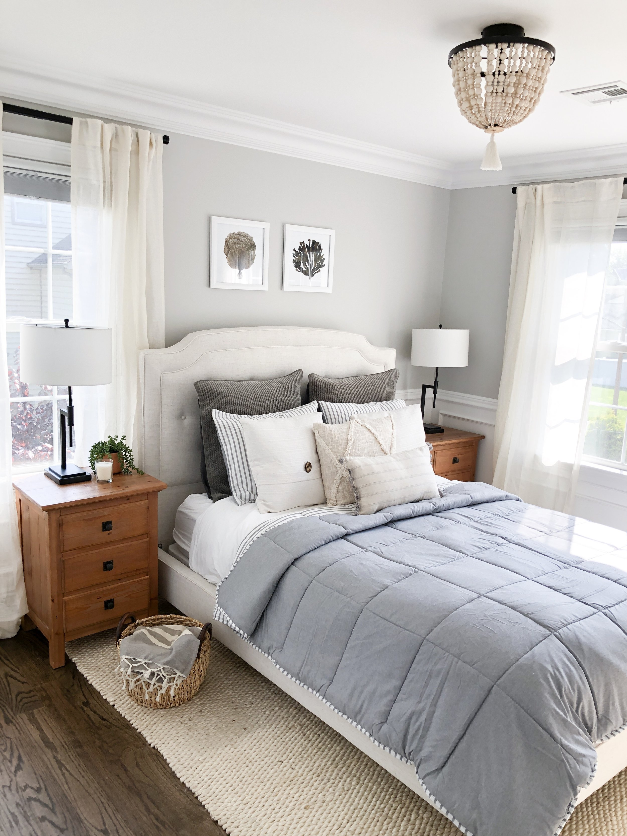 A look at our updated guest room!