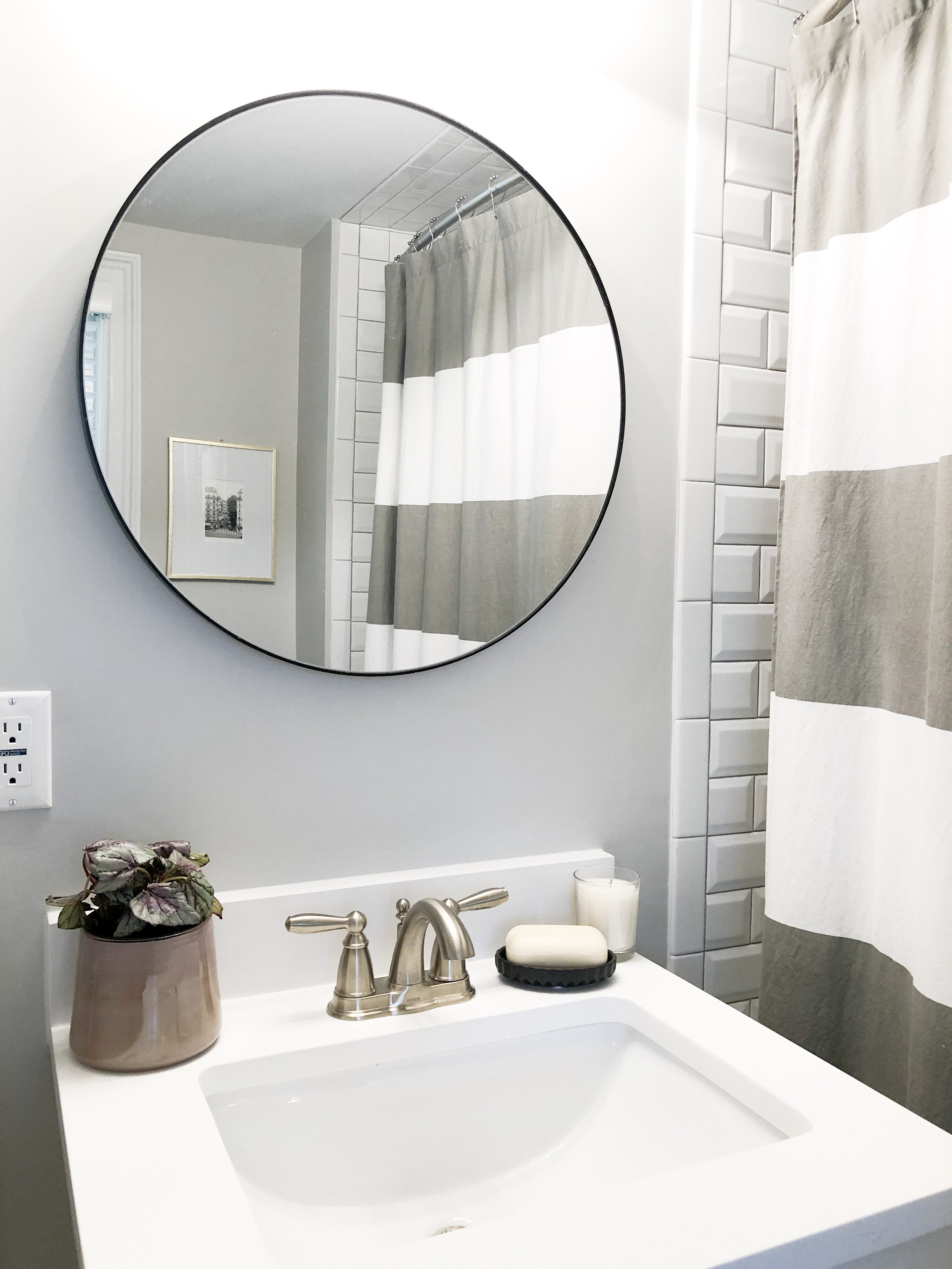 Sink accessories! I like to keep it simple especially when space is tight.
