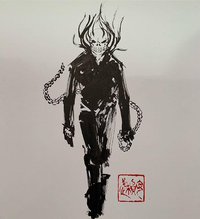 Ghost Rider #newyorkcomiccon #ukiyopop