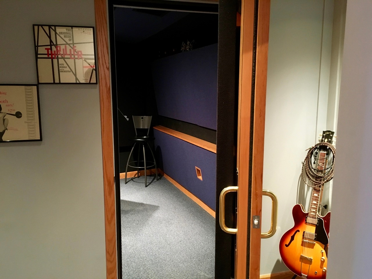 View into the Booth