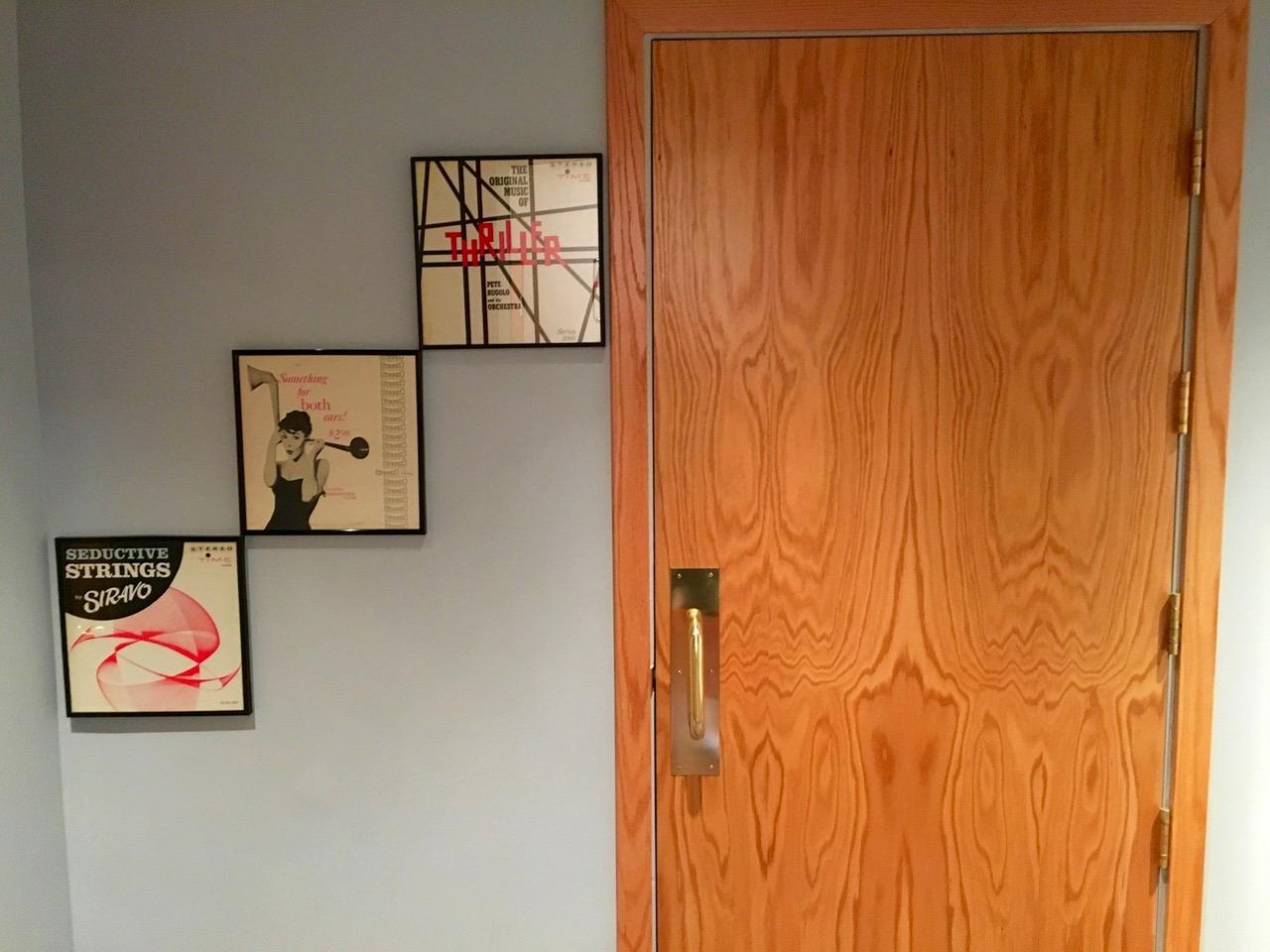 VO Booth Door