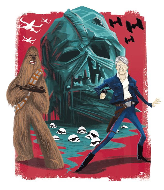 Star Wars: The Force Awakens (for ElevenPDX magazine)