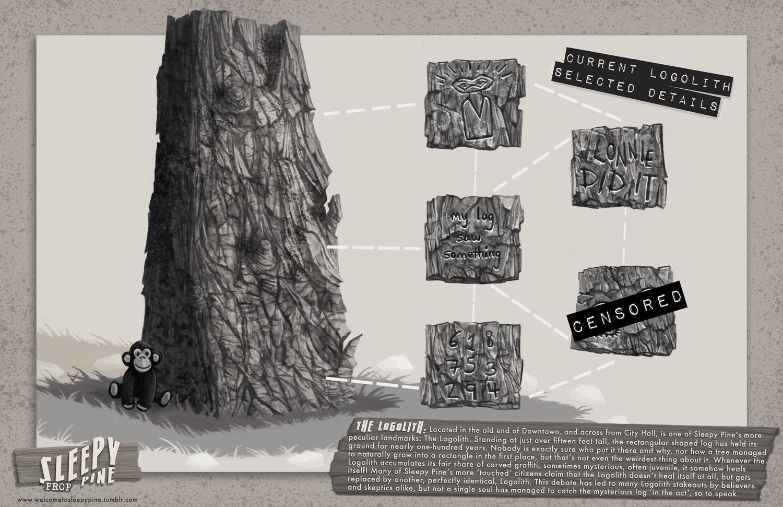 Sleepy Pine: The Logolith