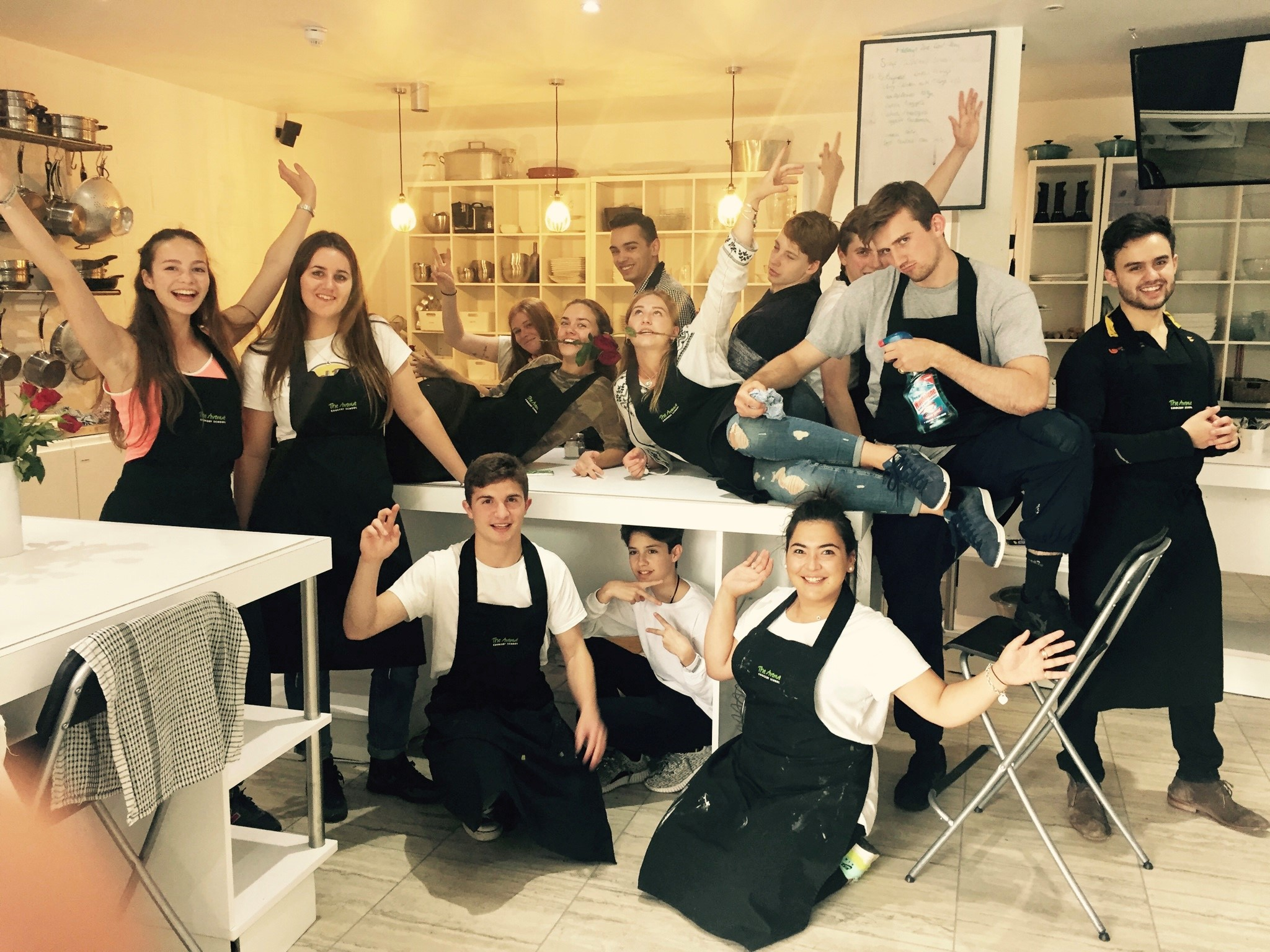The Avenue Cookery School  has a range of courses suitable for beginner cooks looking to get into the world of cooking work.