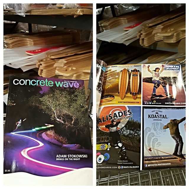 Check out our ad in the newest Concrete Wave magazine. #concretewave #koastalboards #koastal #surftostreet #surfthestreets #skateboarding #skate #surf