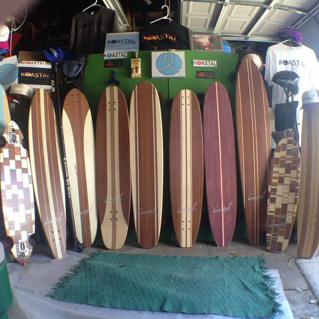 Now that's a quiver! Thanks Gabriel Lavoignet Martinez for sharing this picture. #koastalboards #koastal #surftostreet #surfthestreets #coastal #quiver