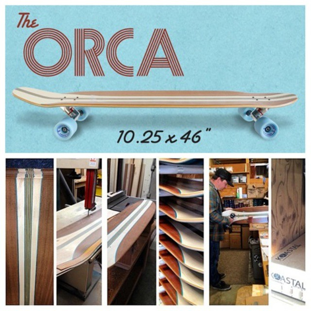 The Orca is back! -  www.koastal.co #koastalboards #koastal #surftostreet #surfthestreets #longboarding #longboard