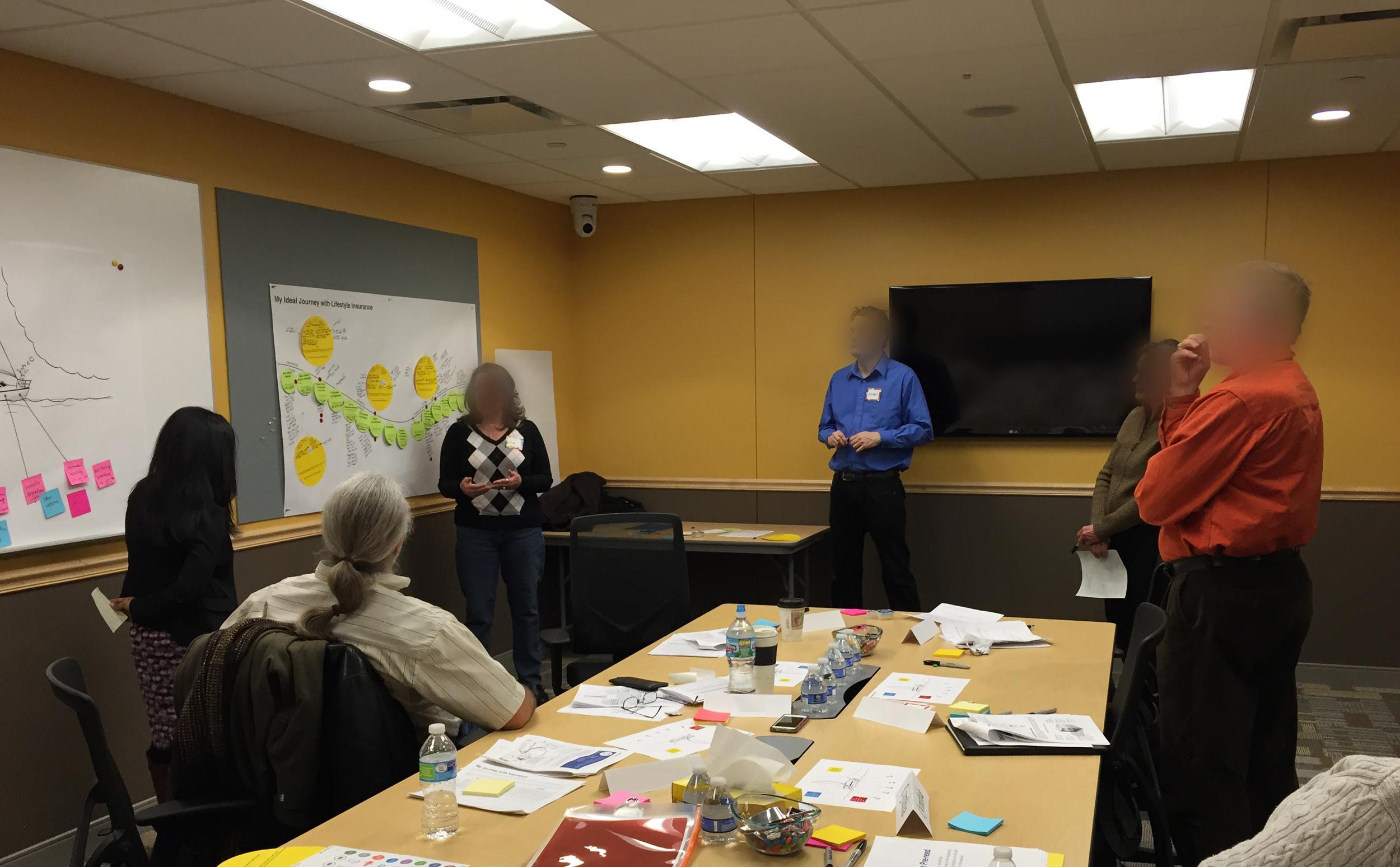 Consumer workshop in action