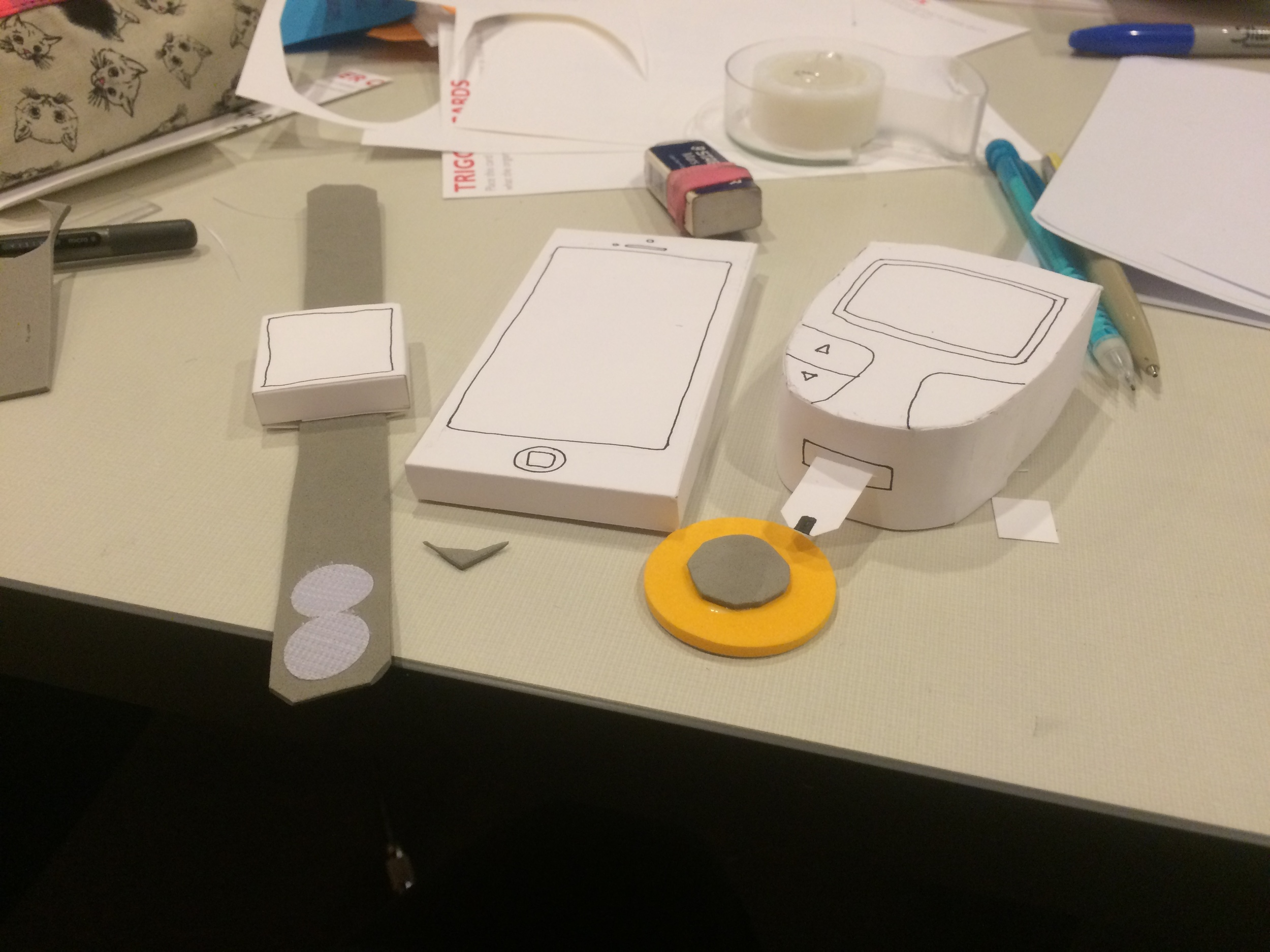 3D mock-ups of concepts