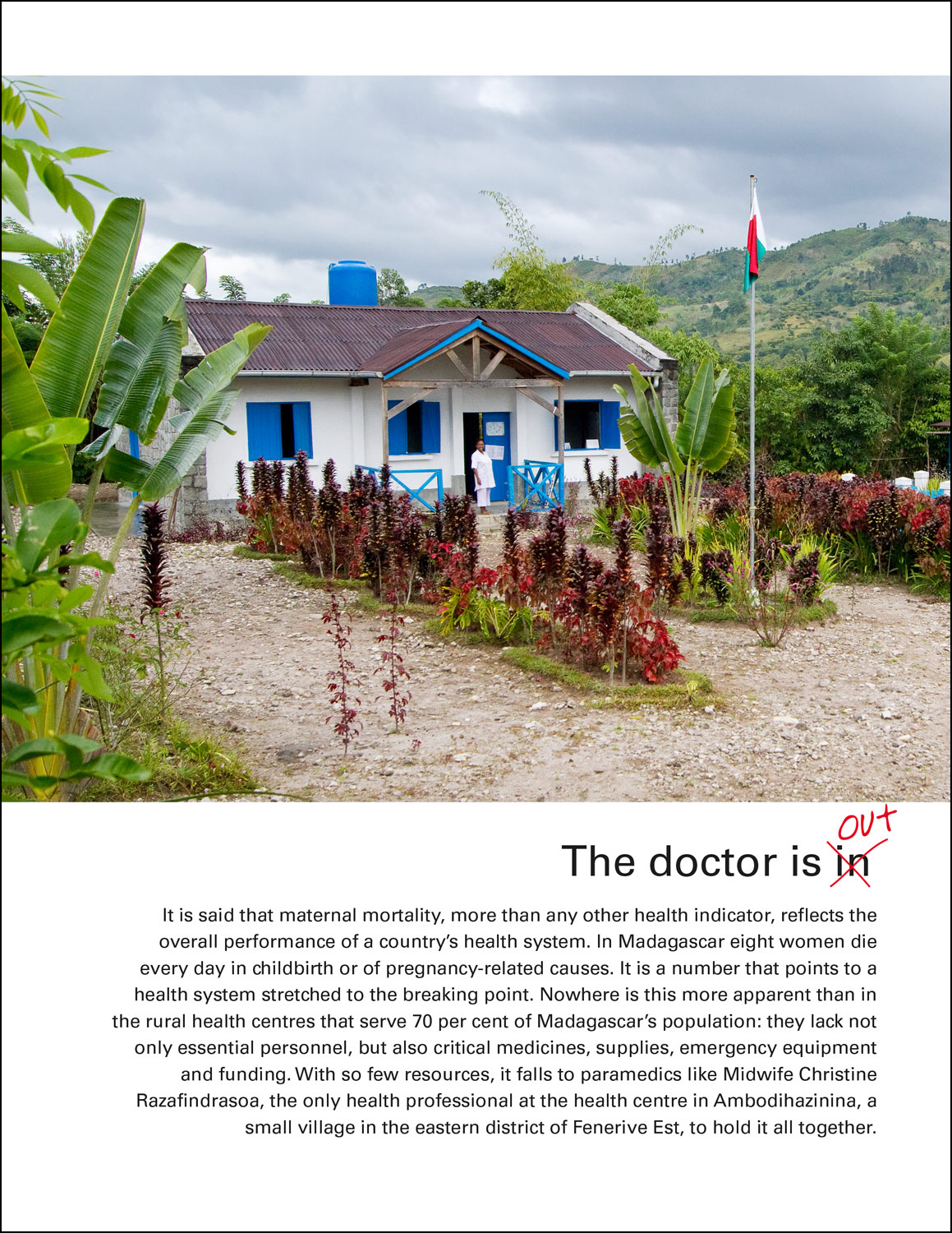 UNICEF Madagascar: The Doctor is Out