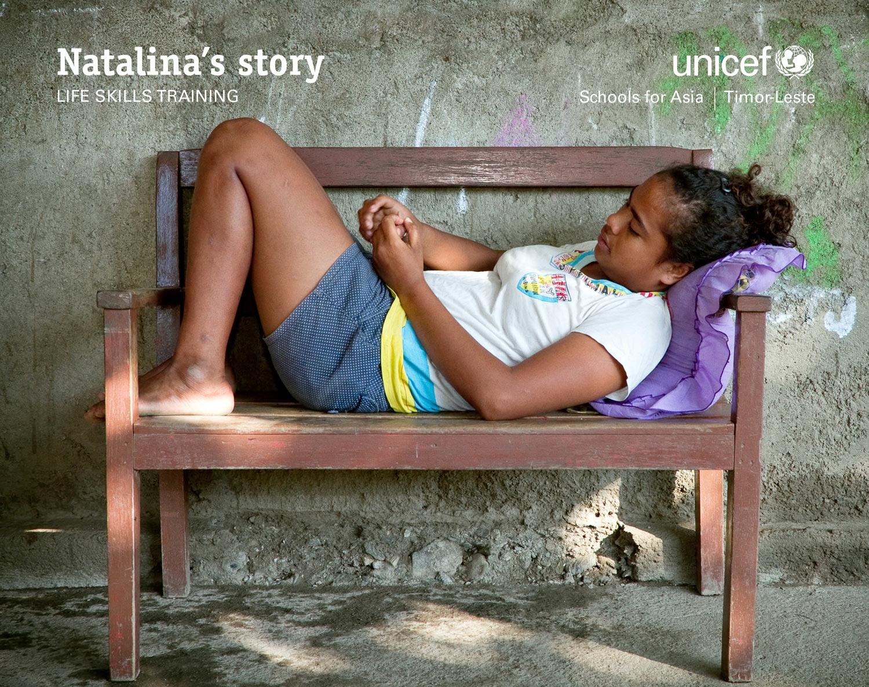 UNICEF East Timor: Natalina's story