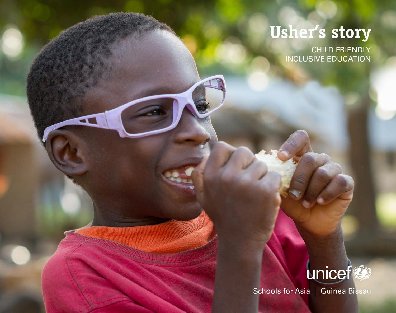 UNICEF Guinea Bissau: Usher's story