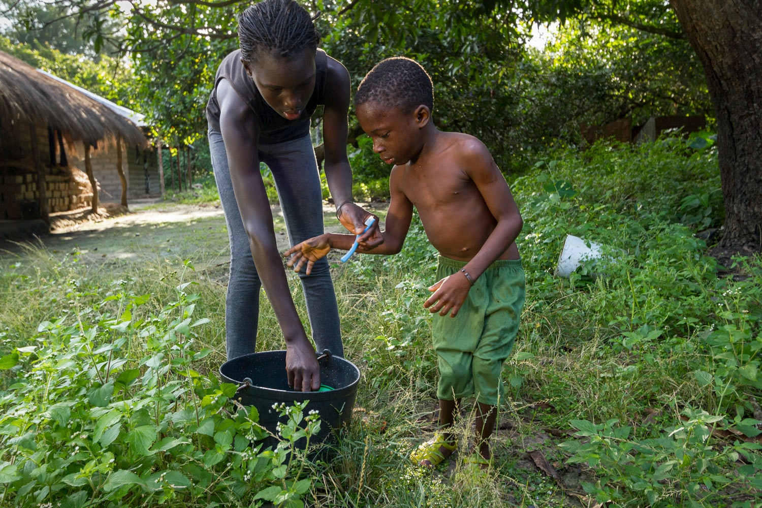 OPEN THIS PUBLICATION  UNICEF GUINEA BISSAU: USHER'S STORY