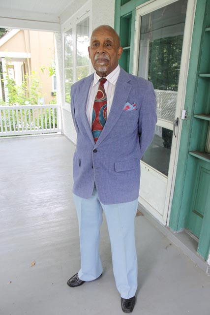 Samuel Harris is pictured at home in 2009 in Washington, D.C.  Photo:Linda Hervieux