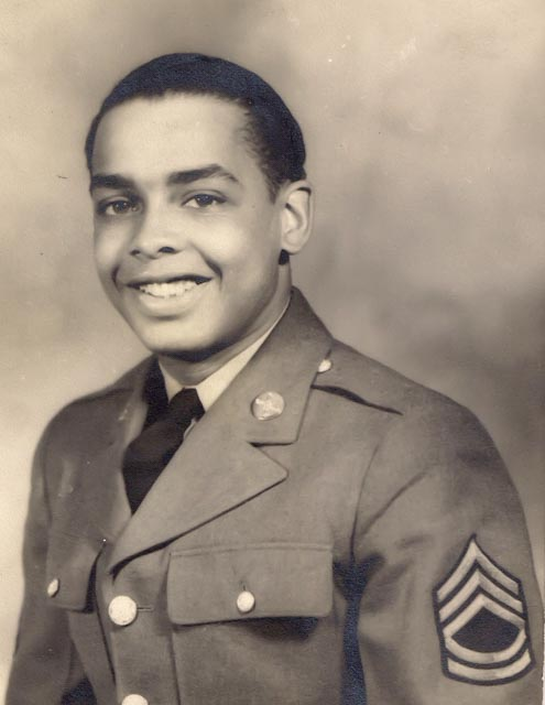 Sgt. Allen Jay Coles, Jr., landed on Omaha Beach on D-Day.
