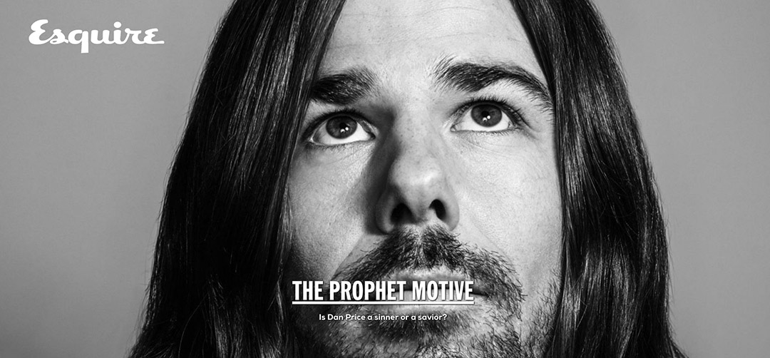 Esquire interview with Dan Price (Photo Peter Yang)