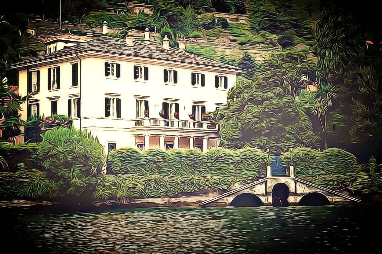 Clooney's Italian Mansion
