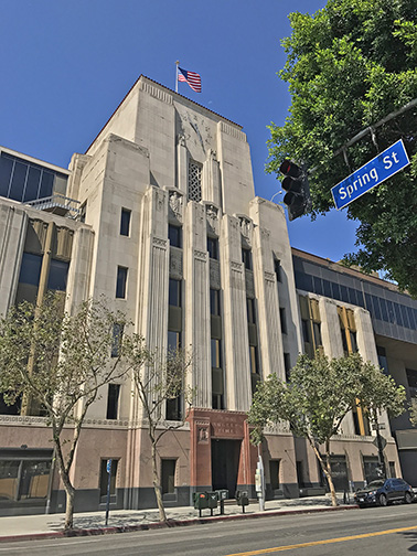 Los Angeles Times headquarters (Photo / Doug Forbes)