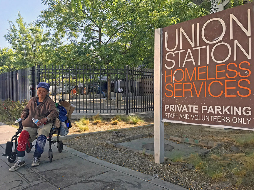 Union Station Homeless Services Adult Center (Photo / Doug Forbes)