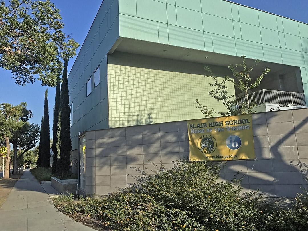 Blair High School, Pasadena, California (Photo/Forbes)