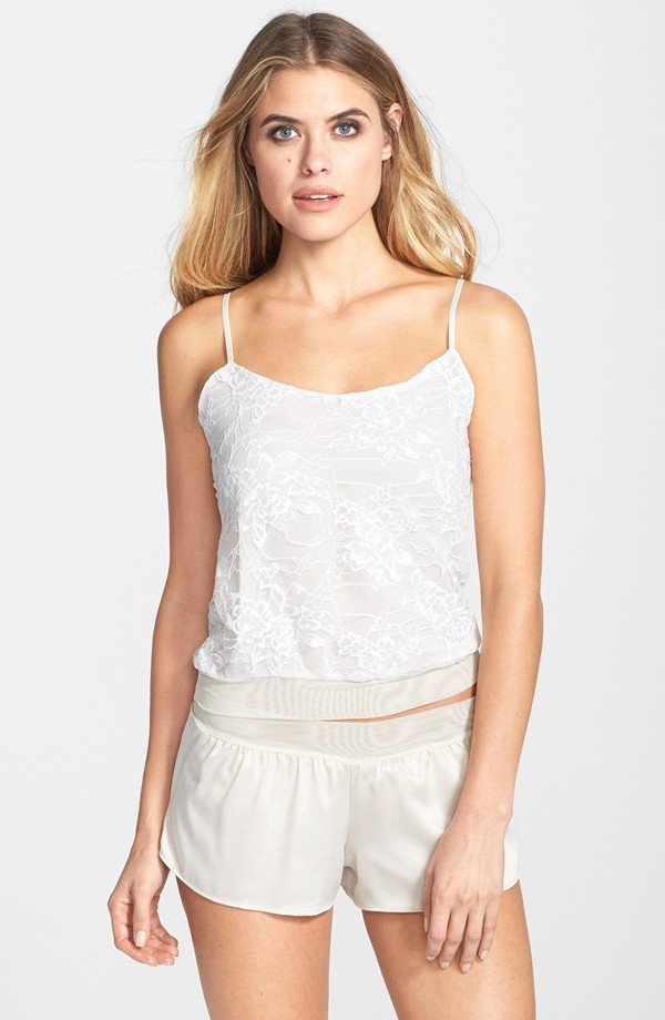 Emma Lace Cami and Short Ivory front.jpg