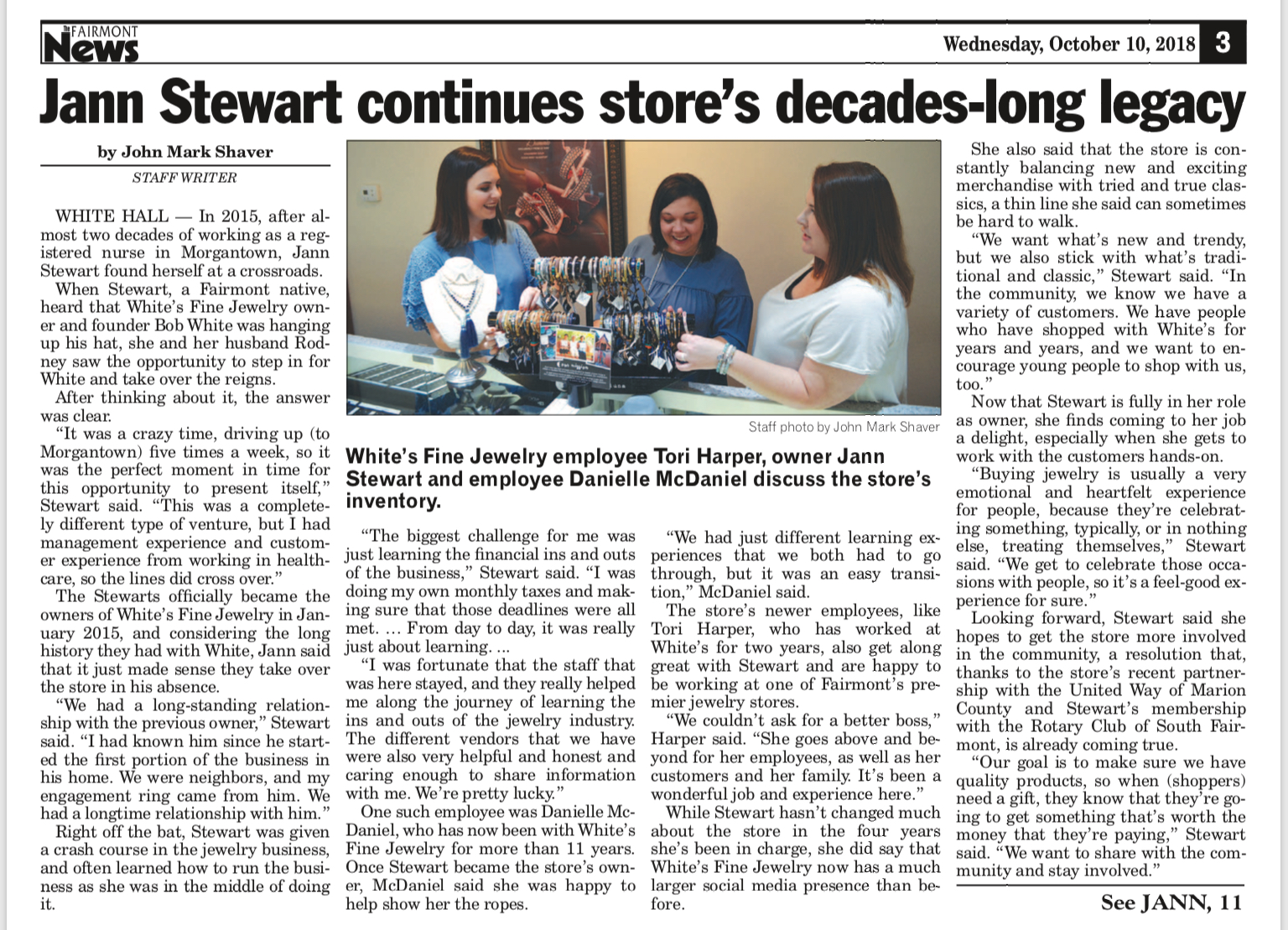 Octoober 10th fairmont news article.PNG