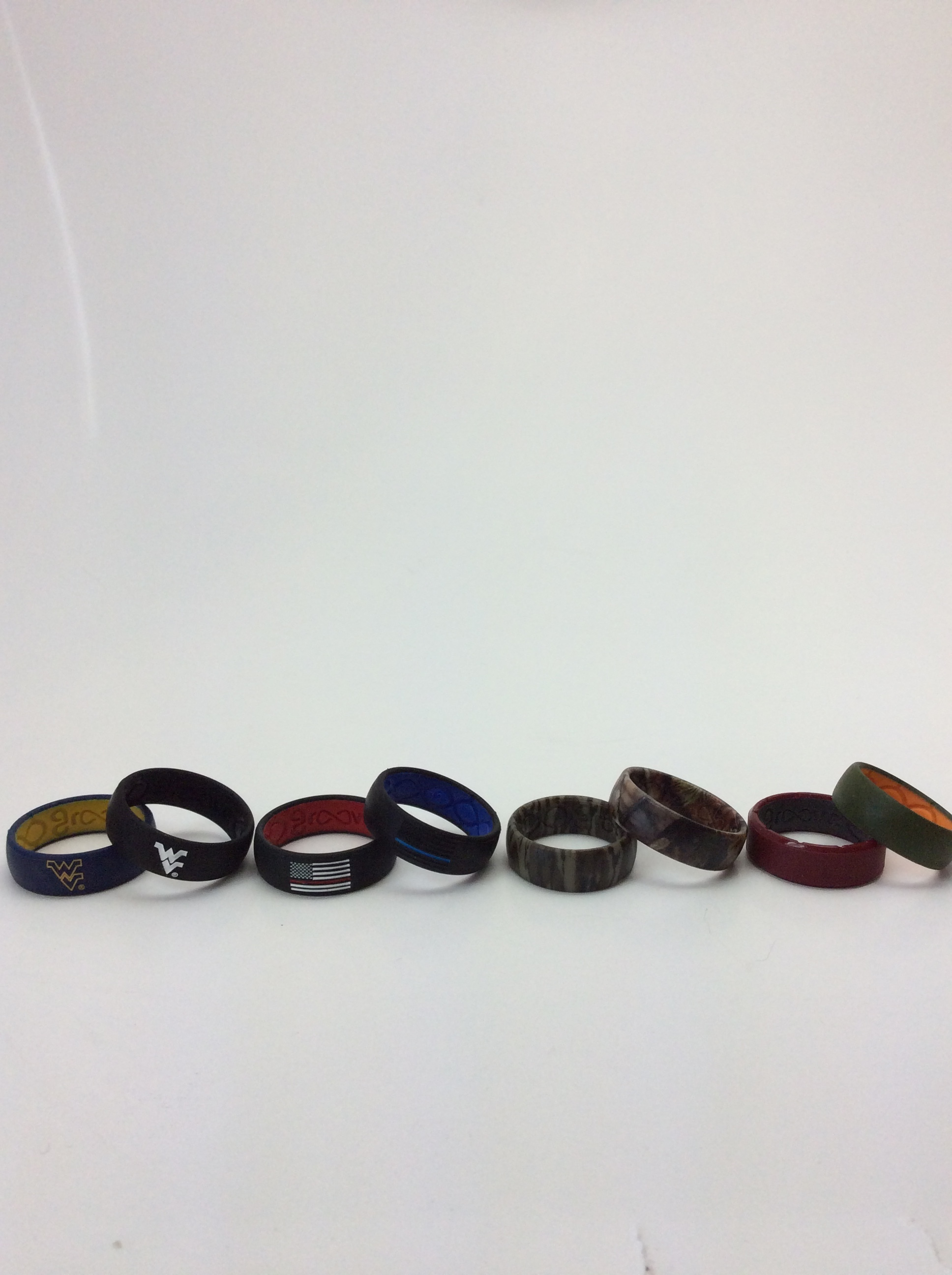 Groove Rings-prices range from $29.95 to $39,95