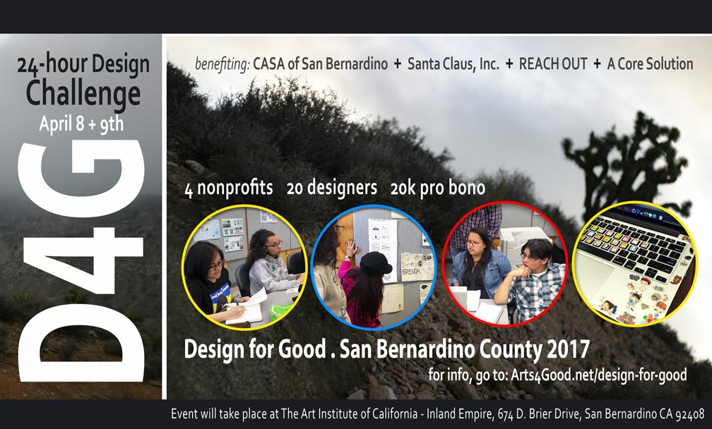 DESIGN FOR GOOD SAN BERNARDINO COUNTY 2017 is a Wrap!