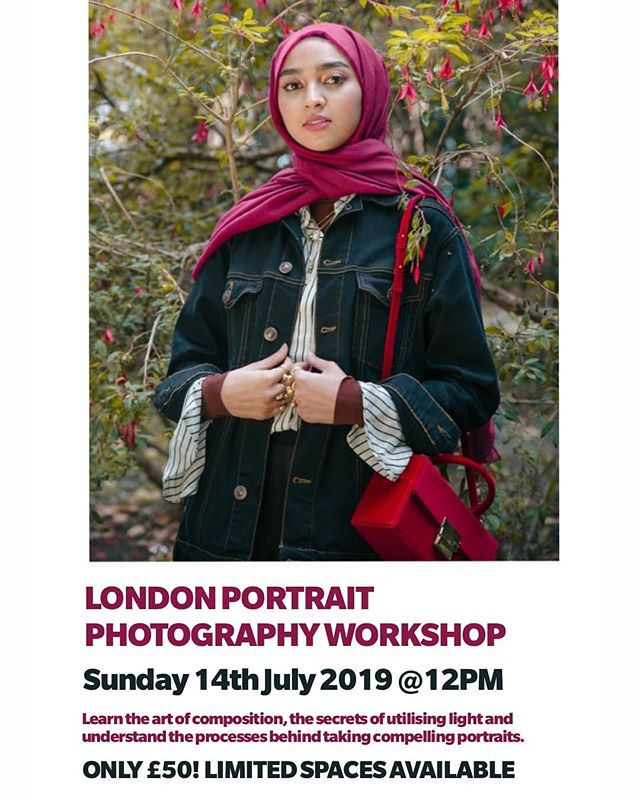 Come and learn with me! This Sunday 14th July. A one day exclusive street portrait workshop in London. Covering the art of composition, the secrets of utilising light and an in depth showcase of my processes behind taking compelling portraits. Also included one to one mentoring and a complimentary personal digital portrait of yourself by me! So much to offer for only £50. Limited spaces available, DM for registration link! Tag a friend below who you want to bring with you! 😄 ❤️ #photographyworkshop #makeportraits #photolondon #londonphotographers #photographytips #london #workshop #documentaryphotography #streetphotography