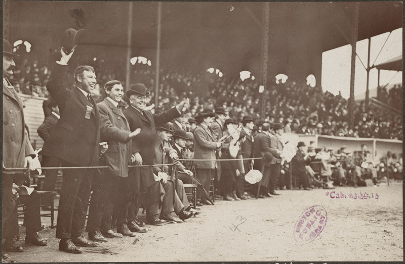 The Boston Royal Rooters at the Huntington Avenue Grounds, 1903 World Series