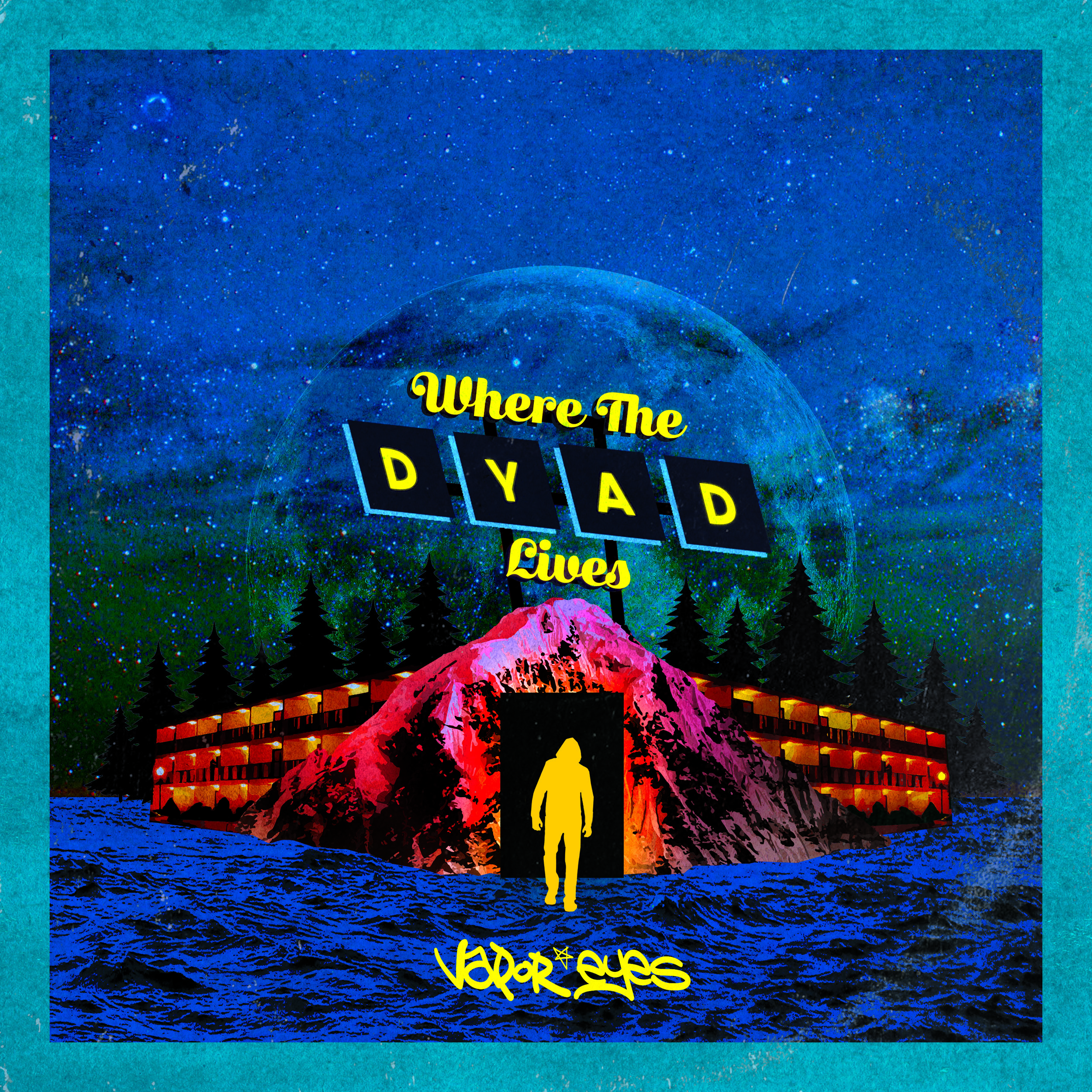 Vapor Eyes - Where the Dyad Lives - Released: April 13th, 2018Key Tracks: You Prefer Fiction, 1 Lonesome Drive, AnomalyVapor Eyes is David Cohen, a veteran Chicago producer whose unique style of sample flipping can explore a myriad of genres in a single 16-bar phrase.In a world fraught with over-stimulation, Vapor Eyes takes a few steps back to sit in the pocket of the old days. Creating a meditative vibe reminiscent of the fabled 90's chill-out rooms, Cohen takes his time narrating through his signature selection of acapella sound bites and instrumental chops.