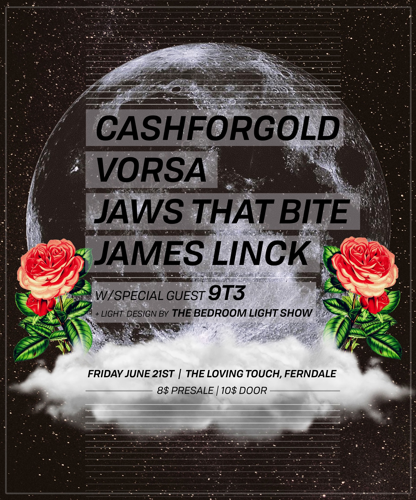 Flyer Art by  POST WOOK