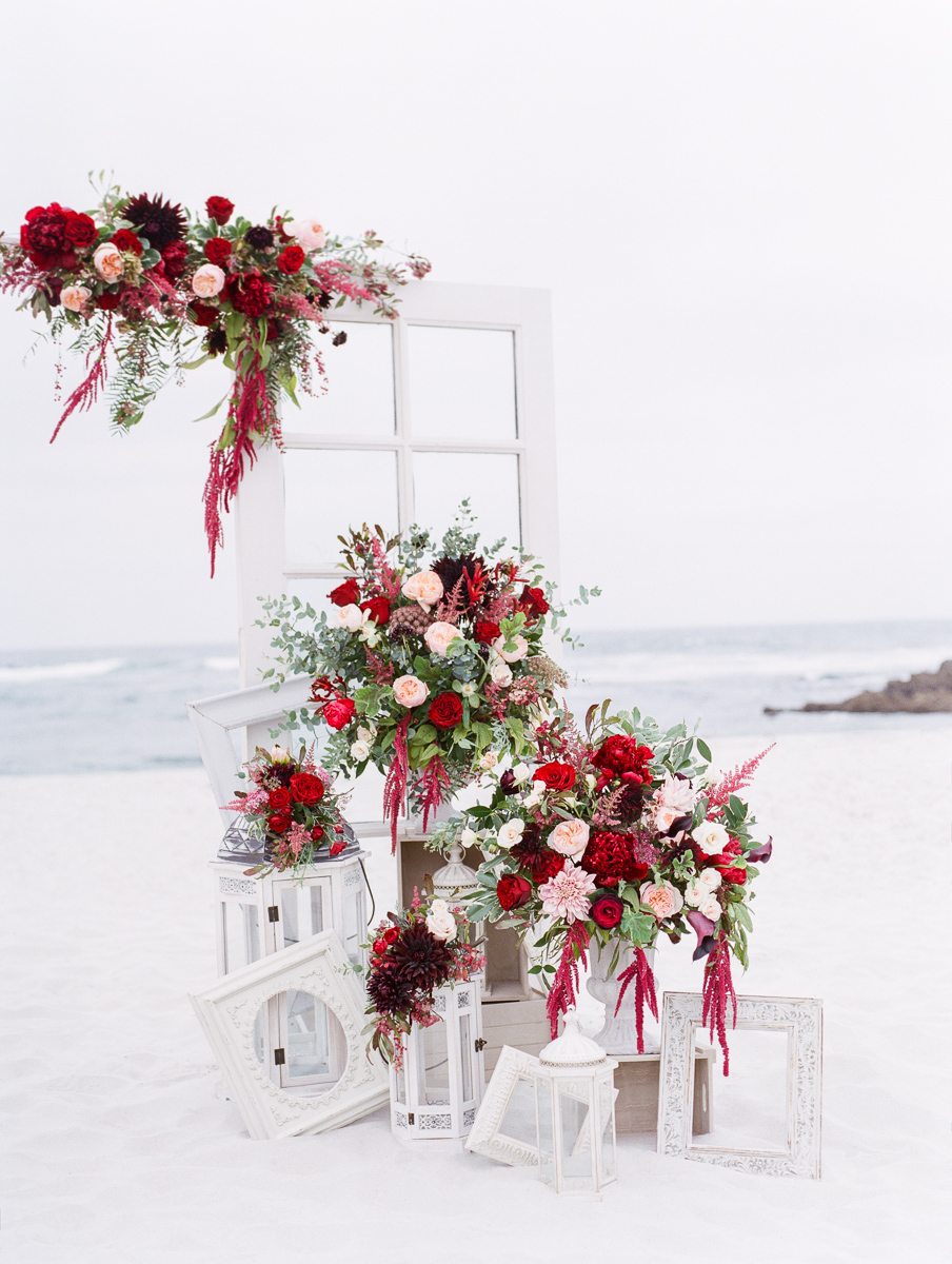 Photography by Dmitry Rogozhin | Cody Floral Design | Pebble Beach Wedding