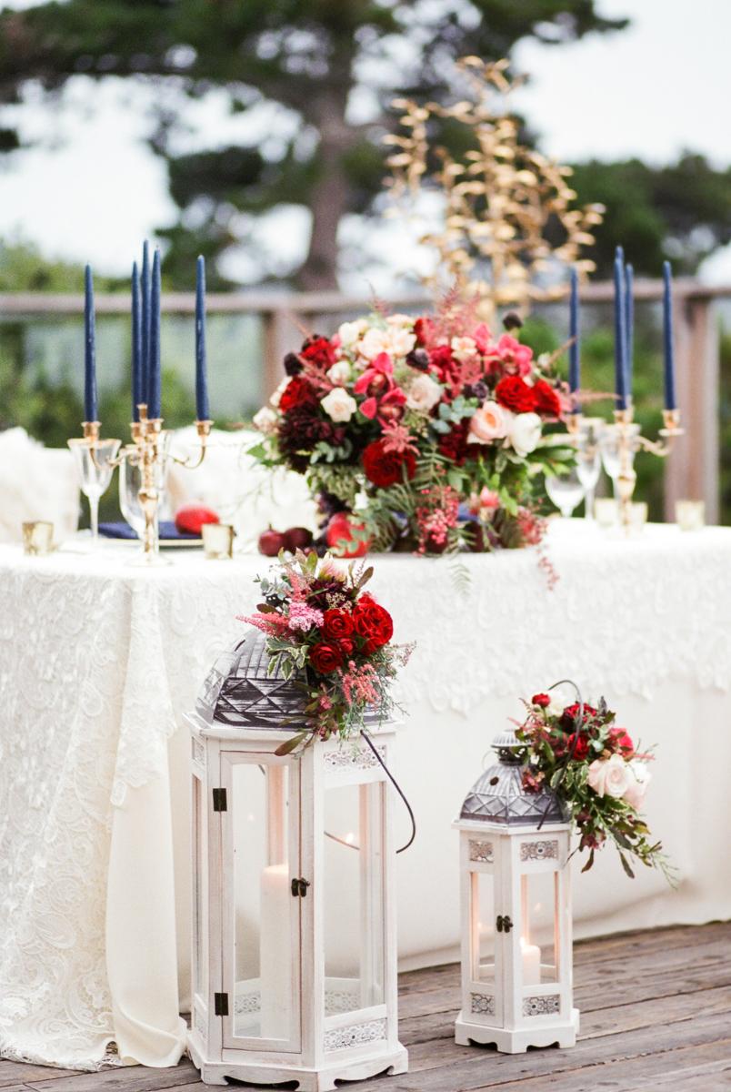 Photography by Dmitry Rogozhin   Cody Floral Design   Pebble Beach Wedding