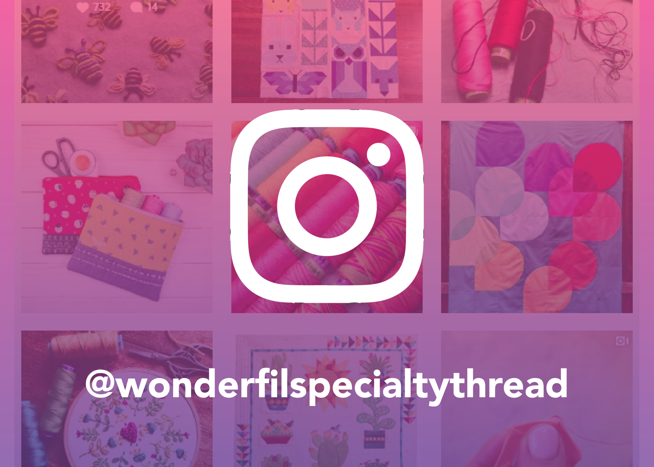 Let's Connect. - Find us on Instagram for inspirational projects and sewing tips.