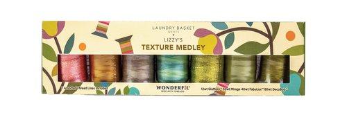 WonderFil Specialty Threads DecoBob Metal Grey #111 2-ply Cottonized Polyester 80wt