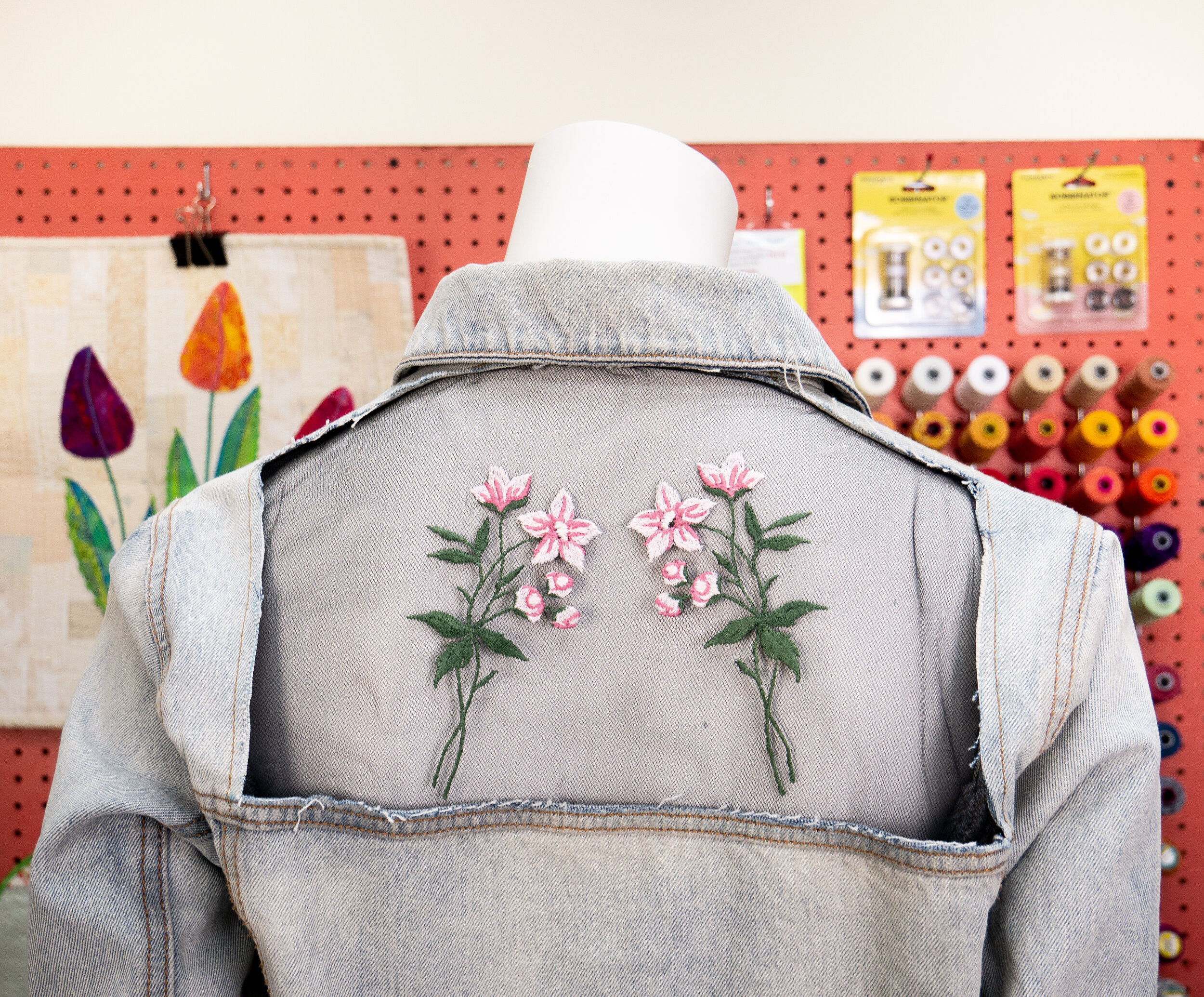 Embroidering with Silco™